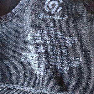 Champion Intimates & Sleepwear - black champion sports bra